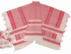 Шарф маскировочный арафатка White/Red