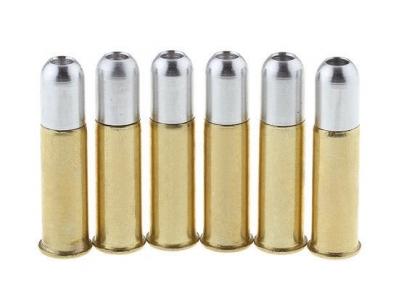 Набор из 6 патронов для пулевых револьверов Gletcher