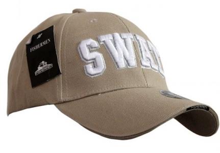 Кепка бейсболка SWAT Tan