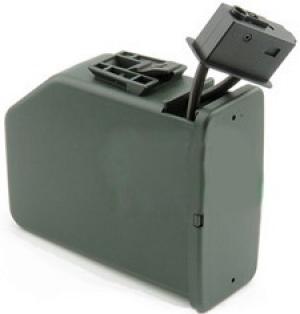 A&K. Магазин электрический M249. Бубен звуковой