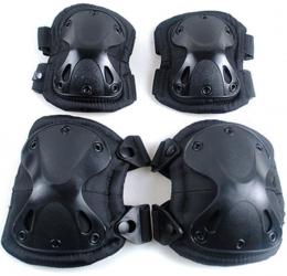 Наколенники, налокотники X-Swat Black
