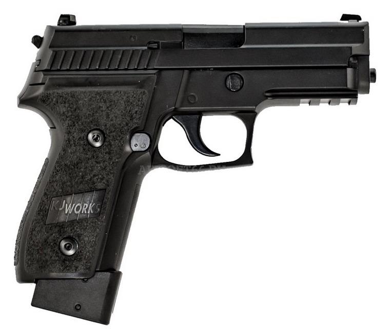 ПИСТОЛЕТ ПНЕВМ. KJW P229 KJW GBB, CO2, черный, металл, КР-02.CO2 CP227