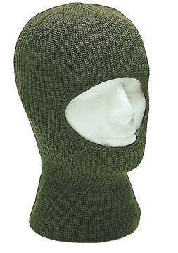 Балаклава с широким вырезом Green (утепленная)