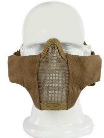 Маска на нижнюю часть лица, ткань+сетка A-Tacs