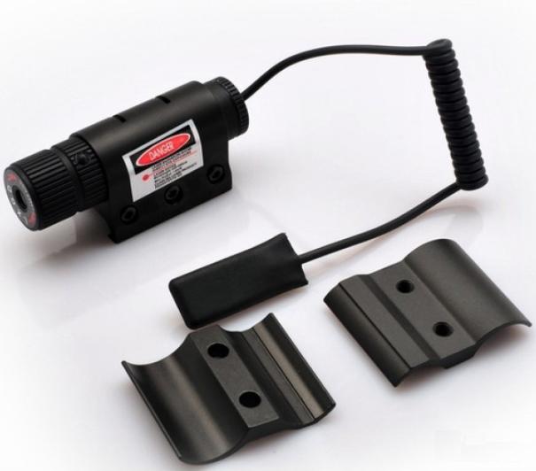 Лазерный целеукащатель Red с кронштейном на ствол и RIS