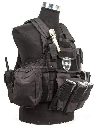 Разгрузка Carrier Vest Black