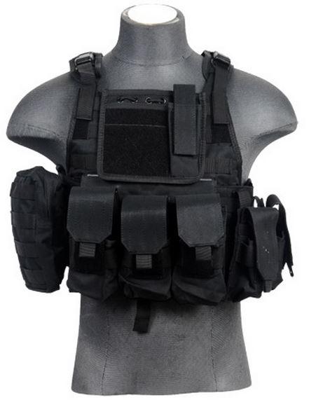 Разгрузка Assault Plate Carrier Black