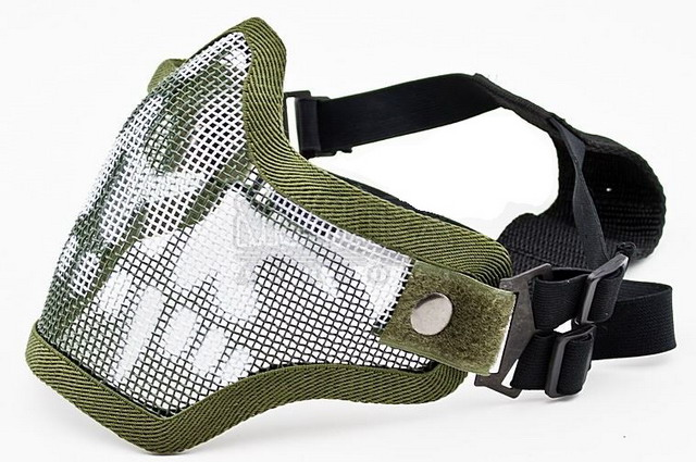 Защита нижней части Green Skull