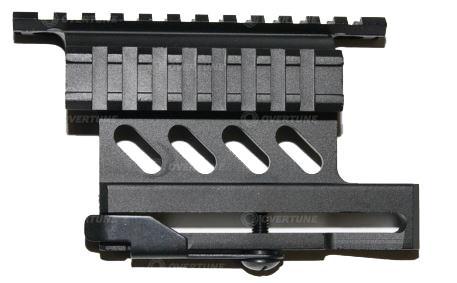 Боковая рельса для крепления прицельных приспособлений на AK серию