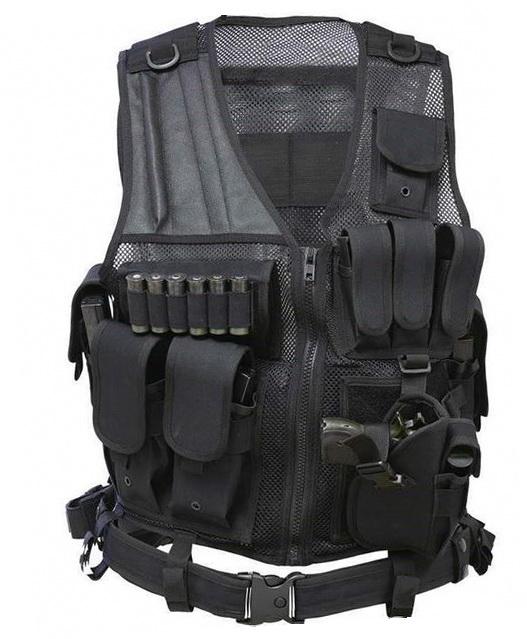 Тактический жилет NcSTAR Crossdraw (Black)