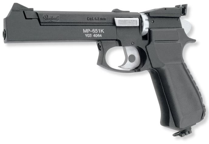 Пневматический пистолет ИЖ (Байкал) МР-651КС