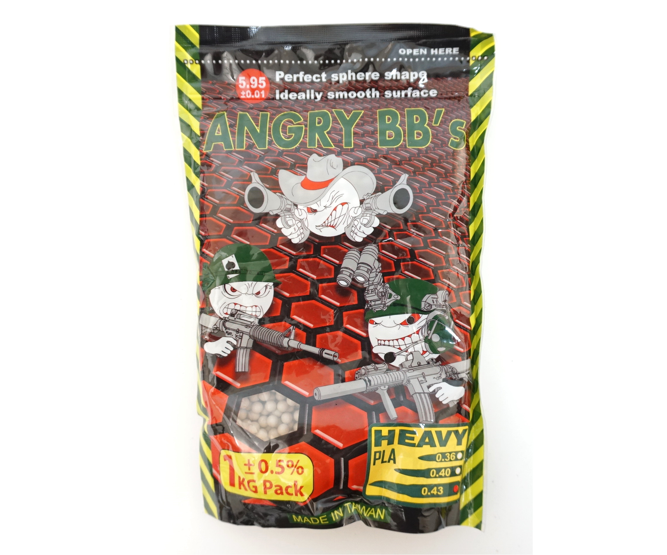 Angry 0,43 (1kg)