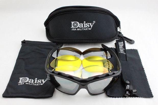 Очки Daisy C4 реплика 4 сменные линзы PC