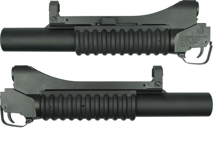 King Arms. Гранатомет подствольный M203 Long RIS