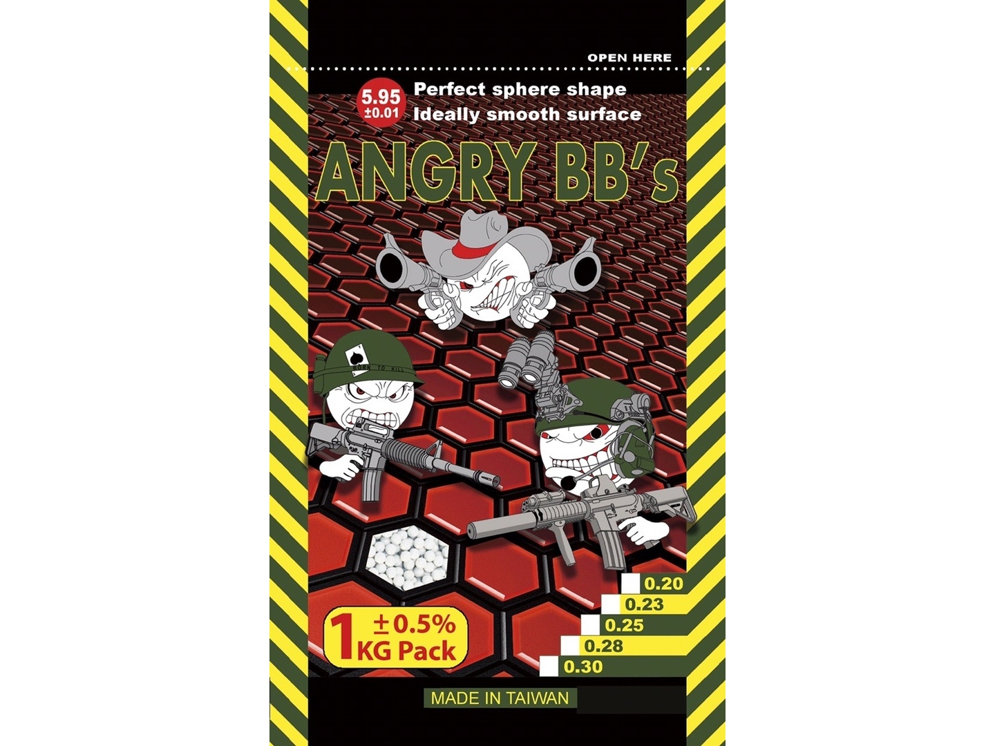 Angry 0,25 (1kg)