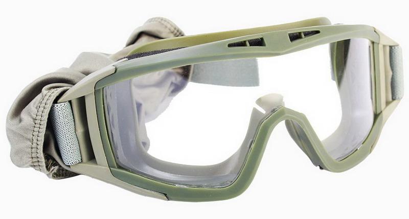 Очки Daisy Tactical (3 сменные линзы), Green