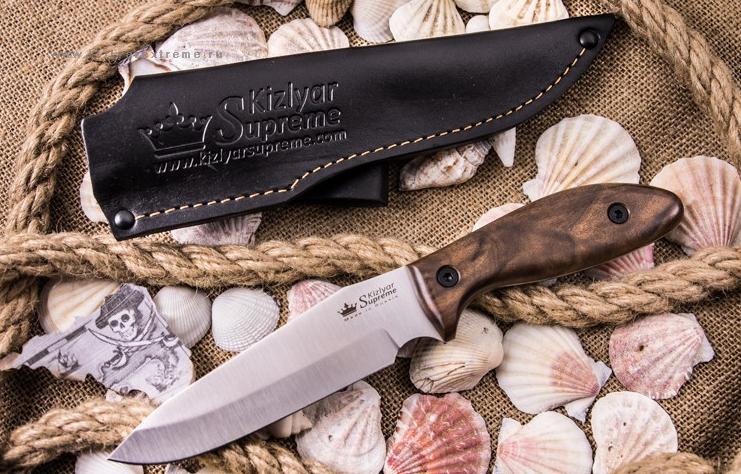 Нож Kizlyar Supreme Flint (дерево) AUS8