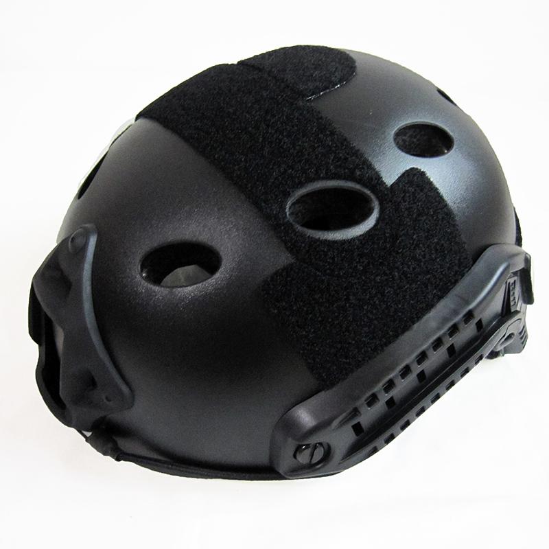 ШЛЕМ ПЛАСТИКОВЫЙ EMERSON FAST Helmet PJ TYPE Light version c рельсами FMA AS-HM0118B