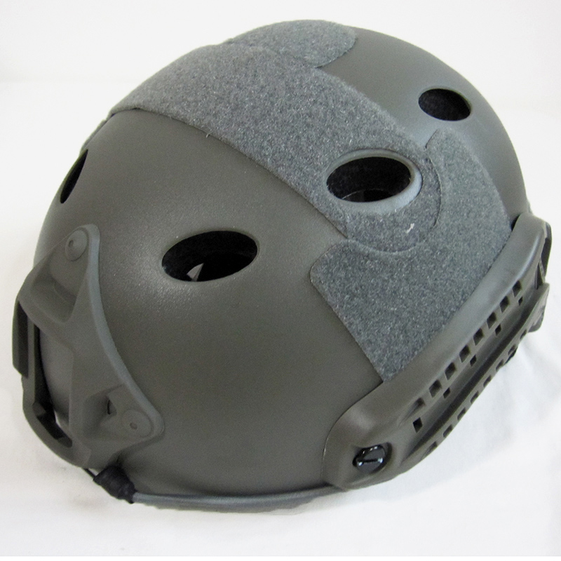 ШЛЕМ ПЛАСТИКОВЫЙ EMERSON FAST Helmet PJ TYPE Light version c рельсами FMA AS-HM0118FG