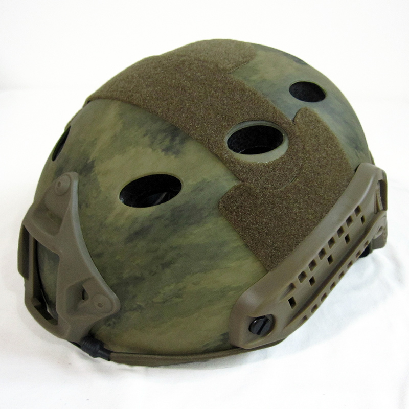 ШЛЕМ ПЛАСТИКОВЫЙ EMERSON FAST Helmet PJ TYPE Light version c рельсами FMA AS-HM0118AF