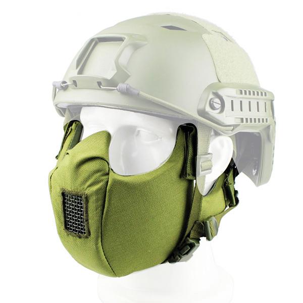 МАСКА на нижнюю часть лица Tactical V5 AS-MS0004OD