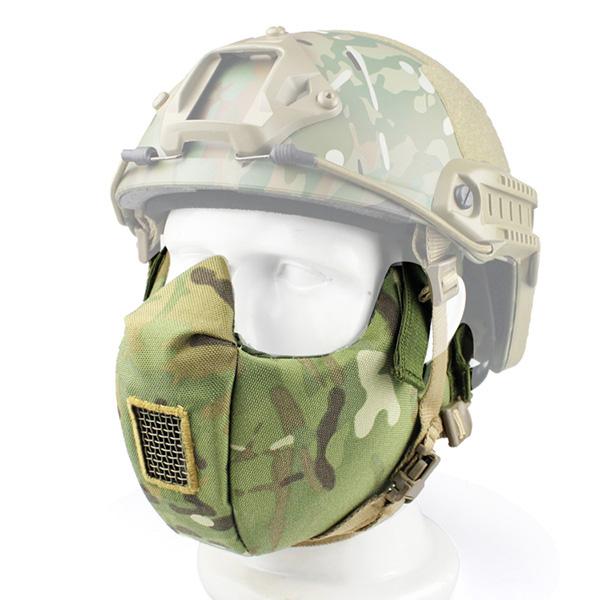 МАСКА на нижнюю часть лица Tactical V5 AS-MS0004CP