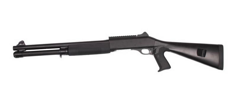 Дробовик K1207 спринговый M4 Tactical приклад постоянный, пластик Black (KOER)