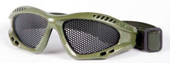 Очки металлическая сетка V2