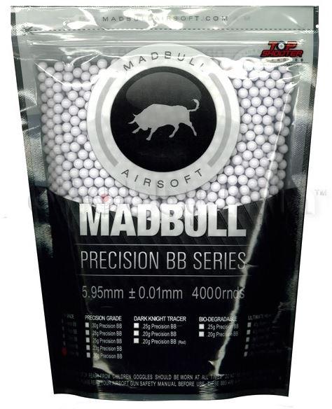 Шары для страйкбола Шары Mad Bull 0,20 (4000 шт)