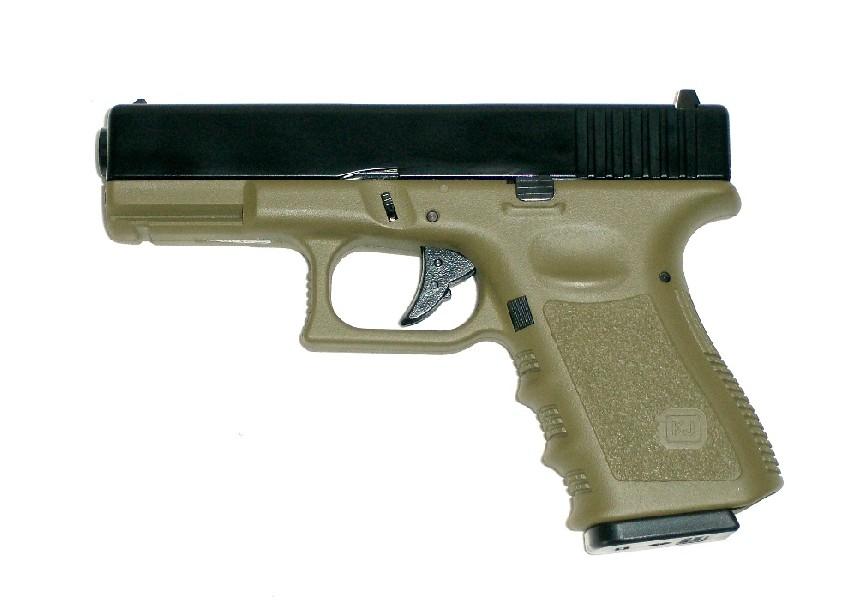 ПИСТОЛЕТ ПНЕВМ. KJW G32C GBB, мет. слайд, OD version, KP-03-MS (OD) GP609