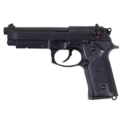 ПИСТОЛЕТ ПНЕВМ. KJW M9 VE-FM GBB, GAS, черный, металл, рельса, модель - VE.GAS GP329
