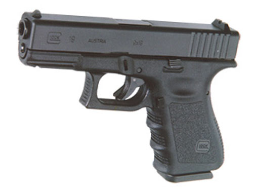 ПИСТОЛЕТ ПНЕВМ. WE GLOCK-19 gen3, металл слайд WE-G003A-BK / GP619A