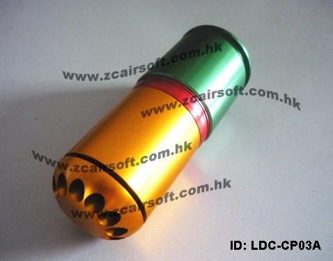ГРАНАТА подствольная 40mm CO2/GAS (Long Type) ZCAIRSOFT LD-08