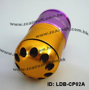 ГРАНАТА подствольная 40mm CO2/GAS (Short Type) ZCAIRSOFT LD-07
