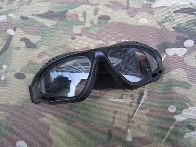 ОЧКИ ЗАЩИТНЫЕ Airsoft Paintball Black WS20934B