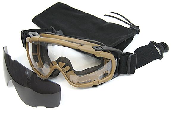 ОЧКИ ЗАЩИТНЫЕ FMA  SI Tactical For helmet AS-GG0002DE