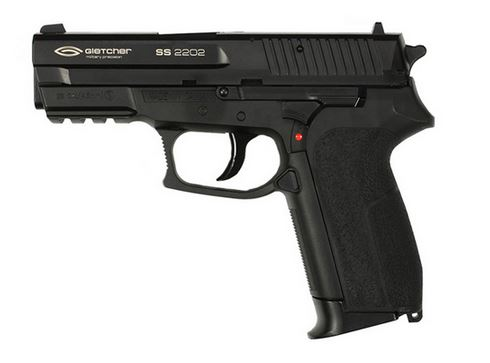 Пистолет пневматический Gletcher SS 2202 (пластик)