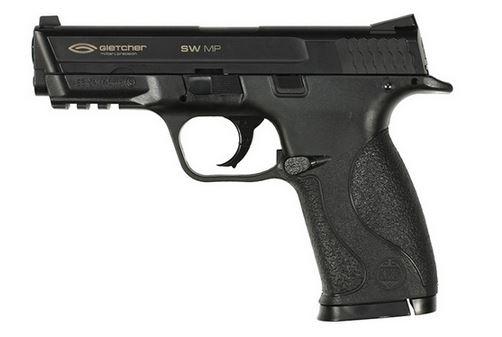 Пистолет пневматический Gletcher SW MP (пластик)