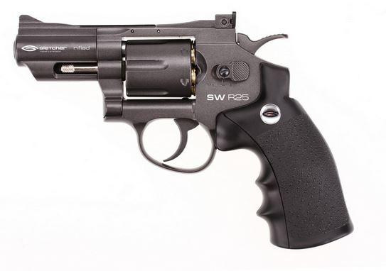 Пистолет пневматический Gletcher SW R25