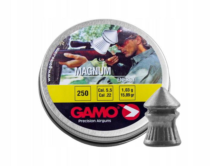 пули для пневматики Gamo 250 шт. Magnum калибр 5,5