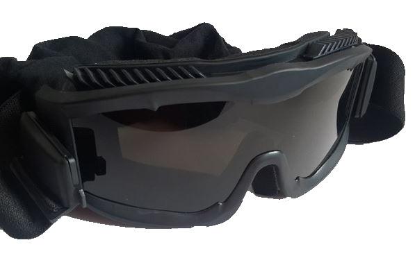 Очки TD-RK6 Black (3 сменные линзы)