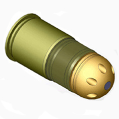 Граната для подствольника 6mm 48rds M433 (Mad Bull)