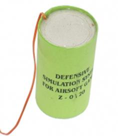 Имитатор оборонительного устройства с электроинициированием
