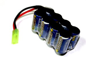 Intellect 9,6V 1600mAh Ni-MH AUG-тип