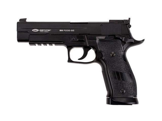 Пистолет пневматический Gletcher SS P226-S5