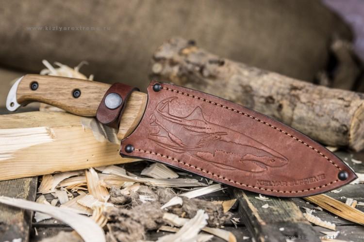 Нож Kizlyar Supreme Shark AUS-8 SW