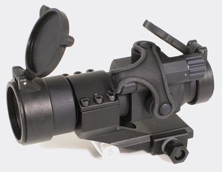 SWISS&ARMS. Прицел оптический коллиматорный RED DOT SIGHT MILITARY MODEL