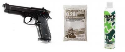 Комплект KJW Beretta M9 GGB
