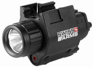 SWISS&ARMS. Фонарь тактический с лазером Flashlight & Laser