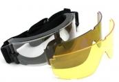 Очки TD-RK5 Black (3 сменные линзы)